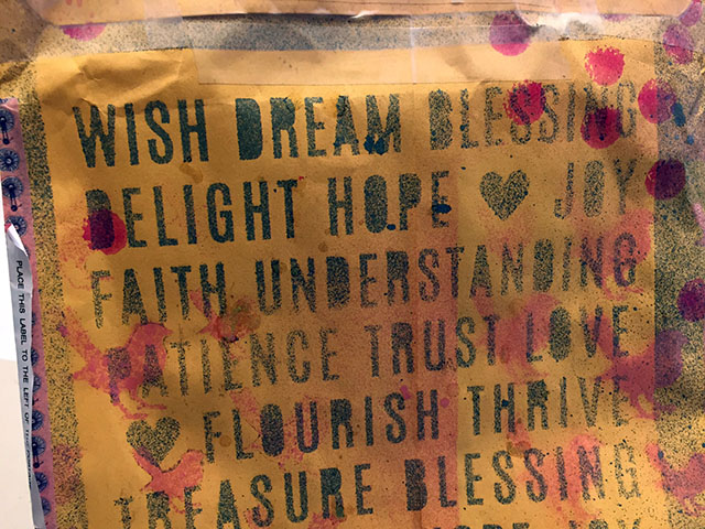 Wish - Dream - Blessing - Delight and other affirming words