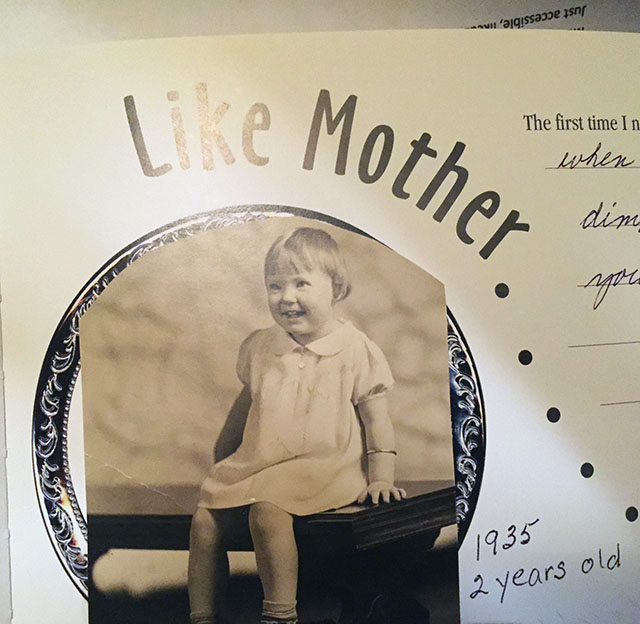 Cute little girl from 1935